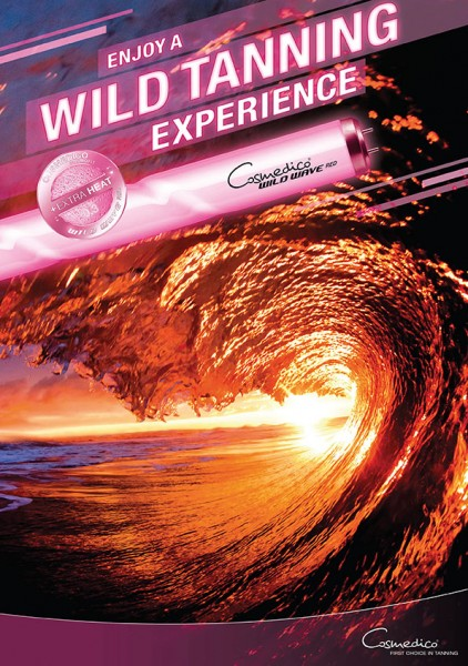 Cosmedico Cosmofit+ WILD WAVE RED 250 1.8M