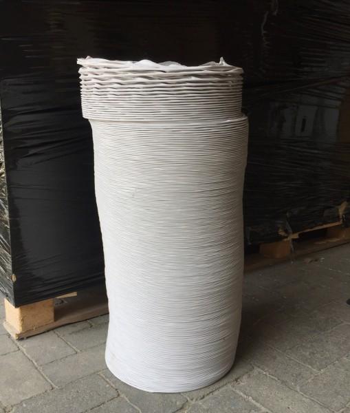 ERGOLINE Abluftschlauch Ø 150 mm, flexibel, grau, 6m